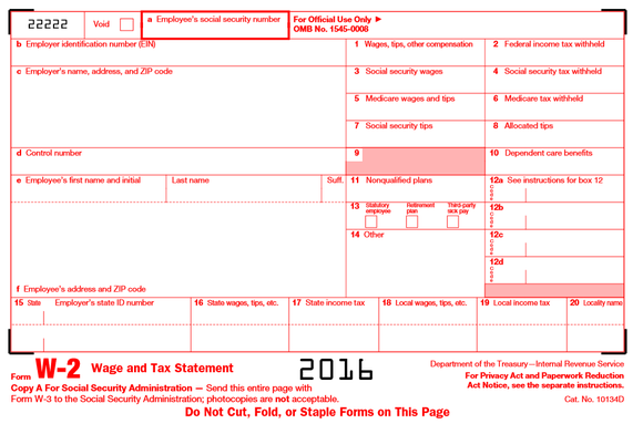 Irs Form W 2 What Every Taxpayer Needs To Know E File Group